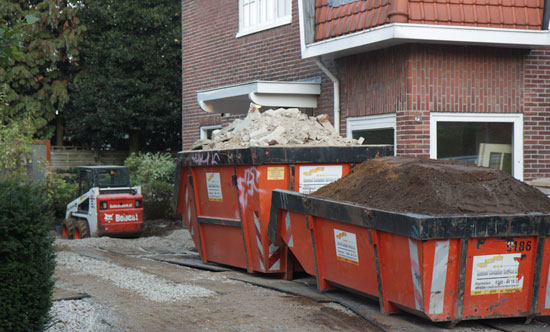 Containers snel gevuld